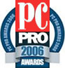 Highly Commended - Best Broadband ISP - 2006 PC Pro Awards