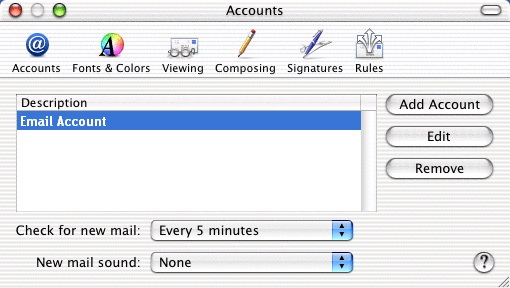 how to make an apple email