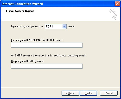 OE6 Create IMAP settings 5