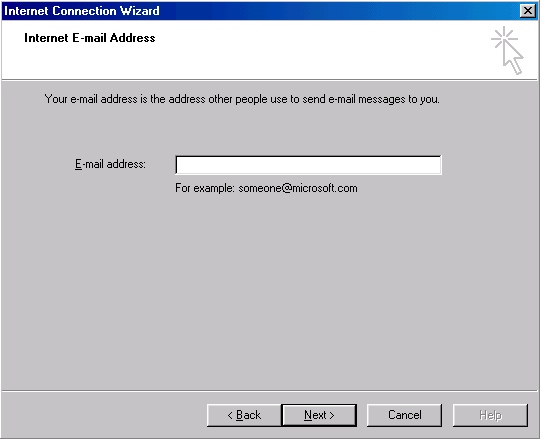 Outlook 2000 account creation - 4