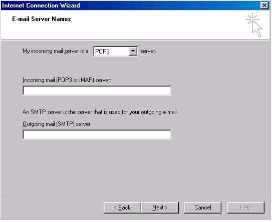 Outlook 2000 account creation - 5