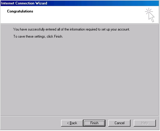 Outlook 2000 account creation - 7