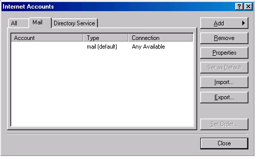 Outlook 2002 settings - 3