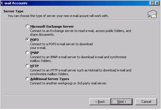 Outlook 2002 Settings 3