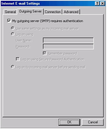 Outlook 2002 Settings 5