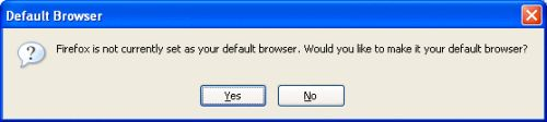 Firefox as default browser - 4