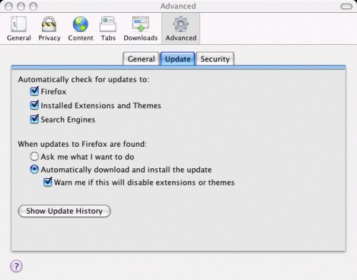 Firefox - Configure Settings 11