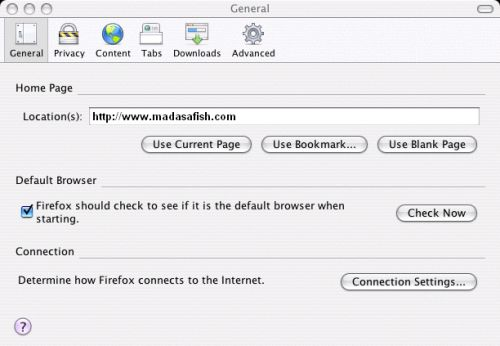 Firefox - Configure Settings 2