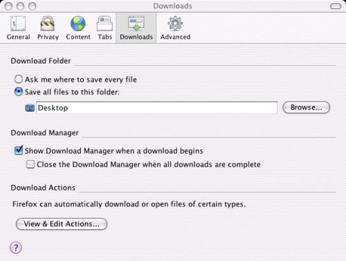 Firefox - Configure Settings 9