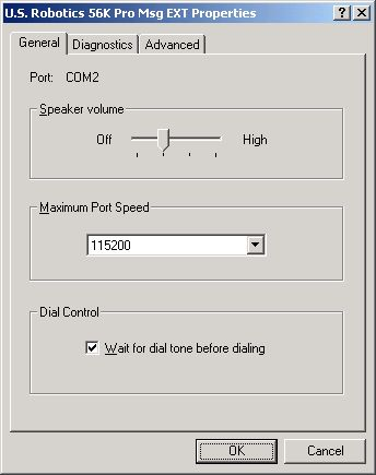 Check dial-up settings Windows - 5