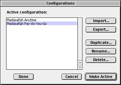 Default connection - Mac OS 8 - 2