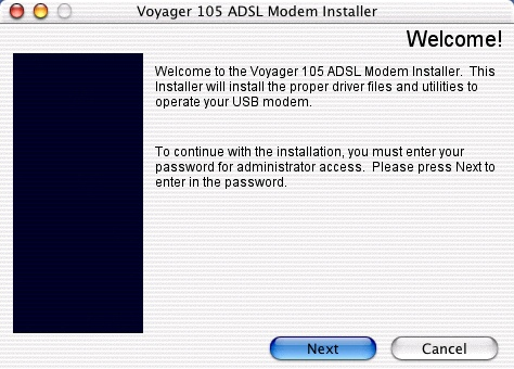 Installing the Voyager 105 - 5