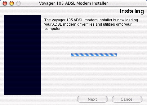 Installing the Voyager 105 - 8