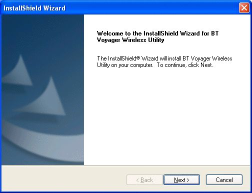 Installing Voyager wireless adapter - Win XP 4