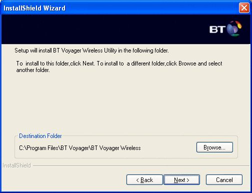Installing Voyager wireless adapter - Win XP 6